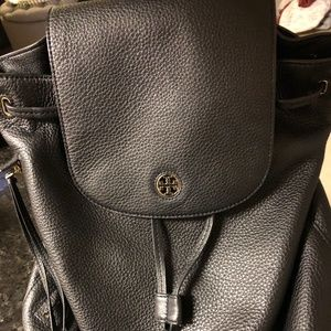 Tory Burch Leather Brody Backpack